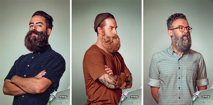 schick-free-your-skin-animal-beards-designboom-11