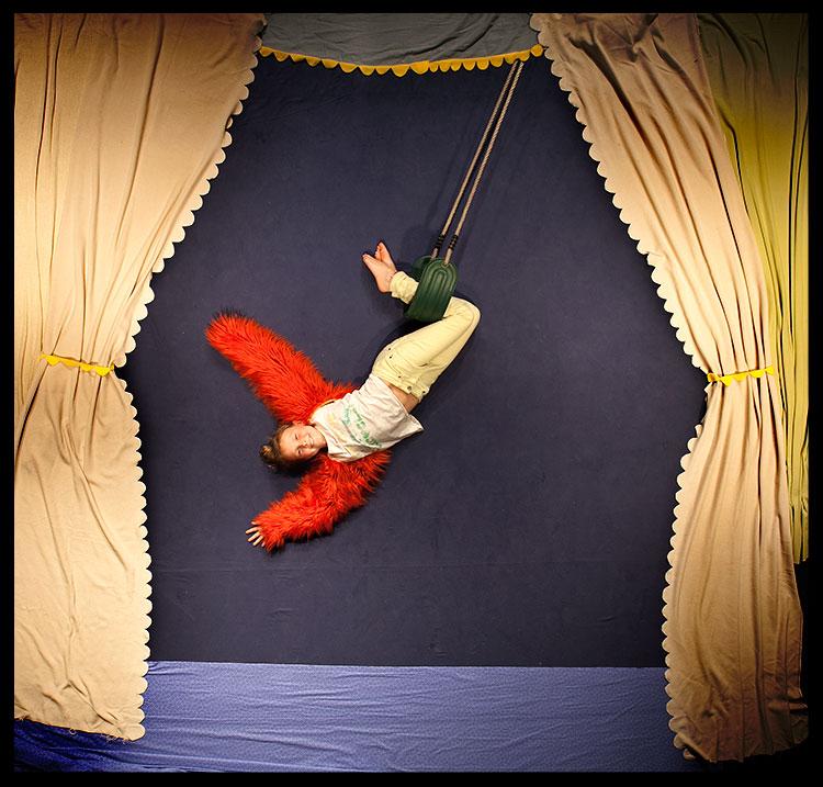 schommelen in het circus